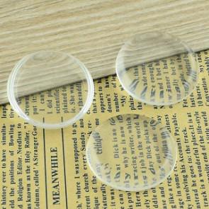 steklena kapljica 40 mm, prozorna, 1 kos