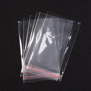 vrečka iz celofana12 x 8 cm, prozorna, 10 kos