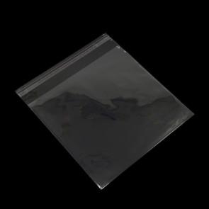 vrečka iz celofana 16 x 18 cm / notranja mera: 16 x 15 cm, prozorna, 10 kos