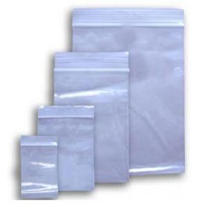 plastične vrečke z zadrgo 70 x 100 mm, prozorne, 50 kos