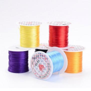 elastična vrvica, 0.8 mm, mix, dolžina: 10 m