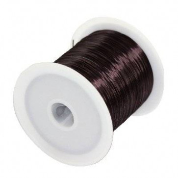 elastična vrvica 0,6 mm, rjava, 10 m