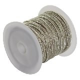 soutache vrvica 2,5 mm, barva: gray, 4 m