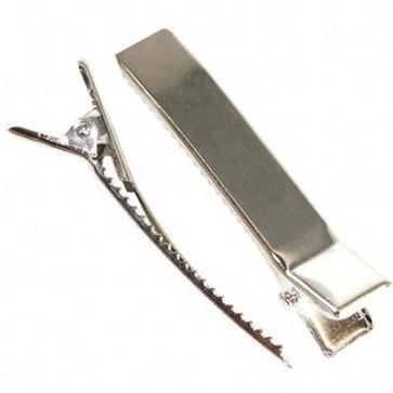 sponka 33 mm, srebrne barve, 1 kos