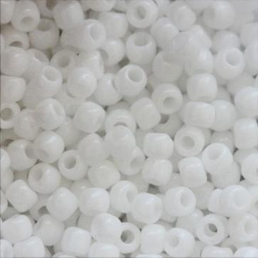 toho perle 2 mm, white, 25 gr