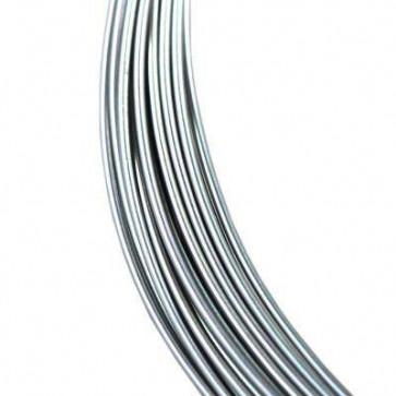 alu barvna žica za oblikovanje, 0.8 mm, platinaste b., dolžina: 5 m