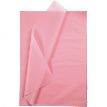 svilen papir (Tissue Paper) 14 g, 50x70 cm, pink b., 1 kos