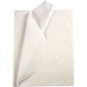 svilen papir (Tissue Paper) 14 g, 50x70 cm, bela b., 1 kos