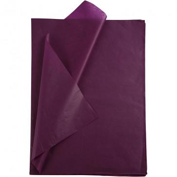 svilen papir (Tissue Paper) 14 g, 50x70 cm, vijolična b., 1 kos