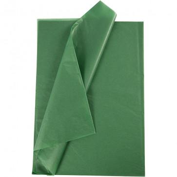 svilen papir (Tissue Paper) 14 g, 50x70 cm, zelene b., 1 kos