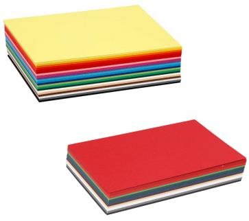 barvni papir 180 g, 105x148 mm (A6), mix, 1 kos