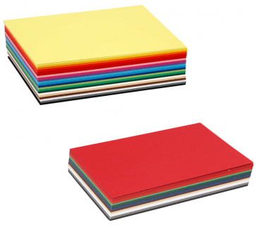 barvni papir 180 g, 297x420 mm (A3), mix, 1 kos