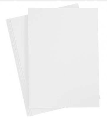 papir A4 s fino teksturo na eni strani, bele b., 210x297 mm, 220 g, 1 kos