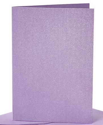 osnova za vabila, 10,5x15 cm, 210 g,  bleščeče vijolična b., 1 kos