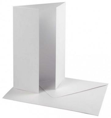 osnova za vabila, 10,5x15 cm, 230 g, bele b., 1 kos