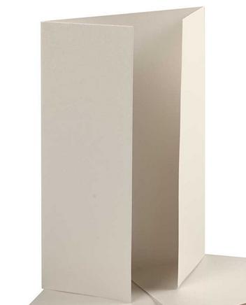 """osnova za vabila, 10,5x15 cm, 230 g, """"off white"""" umazano bele b., 1 kos"""