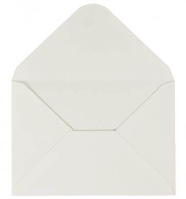 "kuverta, 11,5x16,5 cm, 100 g, ""off white"" umazano bele b., 1 kos"