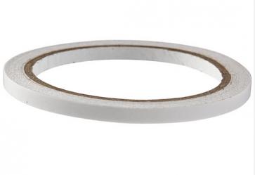 obojestranski lepilni trak, 6 mm, na kolutu 10 m, prosojen, 1 kos
