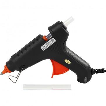 maxi pištola za lepljenje pri visoki temperaturi (170°C), debelina vložka: 11 mm (2 kosa lepila vključena), 1 kos