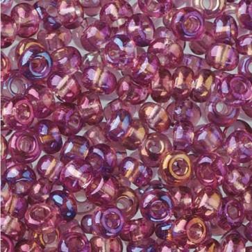 EFCO steklene perle 2,6 mm, lila, irizirane, 17 g