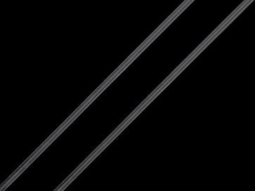 elastična vrvica (gumi) 1 mm, prozorna, 5 m