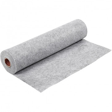 filc 1,5 mm, siv, 45 x 100 cm, 1 kos