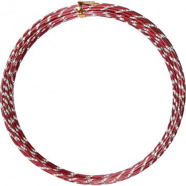 aluminijasta barvna žica za oblikovanje, 2 mm, rdeča - rezana, 7 m