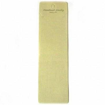 kartonček za ogrlico 6x21 cm, 1 kos