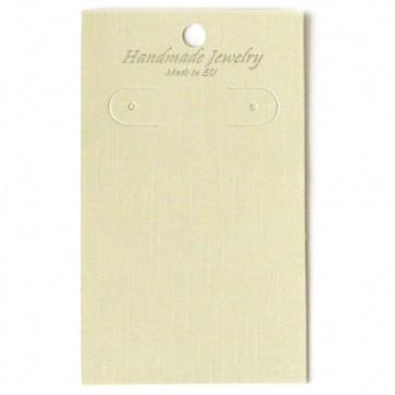 kartonček za uhane 6x10 cm, 1 kos