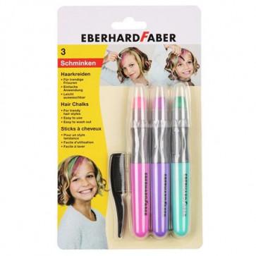 voščenke za barvanje las - roza, vijola, zelena, 1 komplet