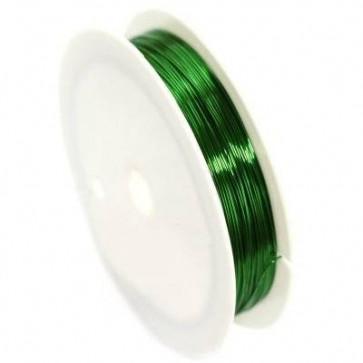 barvna žica za oblikovanje, 0,4 mm, dolžina: 17 m, zelena