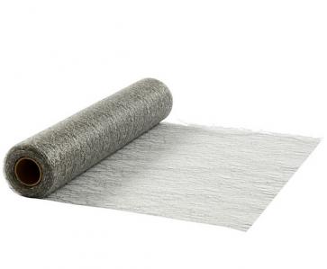 mrežasti tekač, svetlo siva b./srebrna, 0,30x10 m, 1 kos
