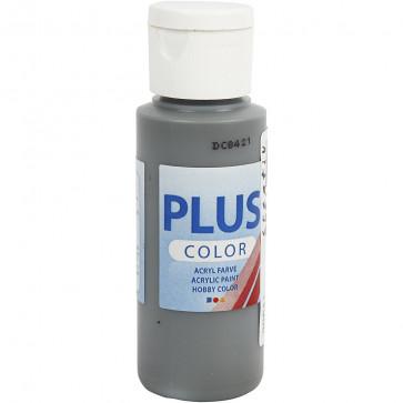 akrilna barva na vodni osnovi, dark grey, mat, 60 ml