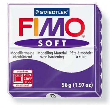 FIMO SOFT modelirna masa, slivova b. (63), 56 g