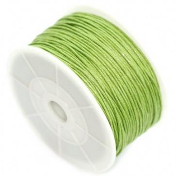 bombažna vrvica 0,8 mm, zelena, dolžina: 80 m