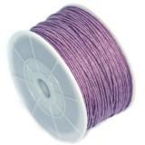 bombažna vrvica 0,8 mm, vijola, dolžina: 80 m