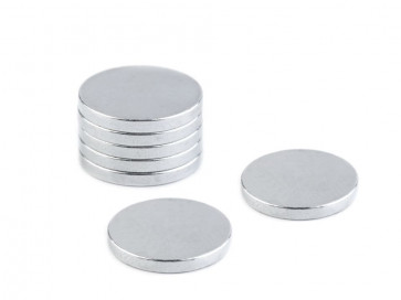 magnet 15 mm, zelo močni, primerni za naprsne šopke, 1 kos