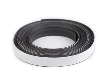 magnet - samolepilni magnetni trak, širina: 1,3 cm, dolžina: 3 m