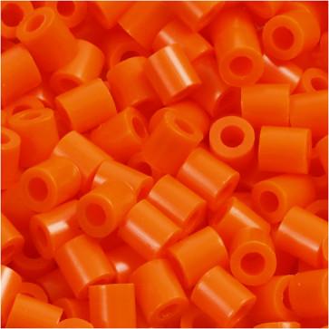 hama perle 5x5 mm, velikost luknje: 2.5 mm, oranžne b., cca 1000 kos