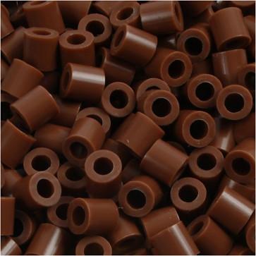 hama perle 5x5 mm, velikost luknje: 2.5 mm, čokoladne b., cca 1000 kos