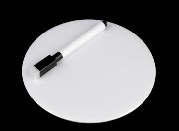 broška ali oznaka miz ~ pisalo, bela, 15 cm, 1 komplet (2 kosa)
