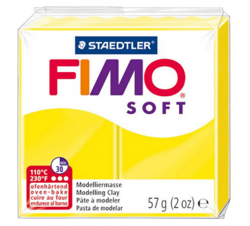 FIMO SOFT modelirna masa, limona (10), 57 g