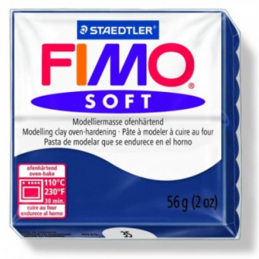 FIMO SOFT modelirna masa, kraljevsko modra (35), 56 g