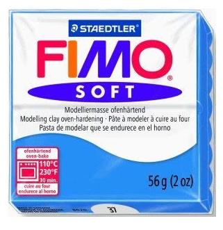 FIMO SOFT modelirna masa, modra (37), 56 g