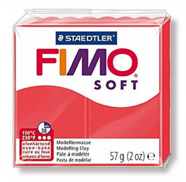 FIMO SOFT modelirna masa, barva flaminga (40), 57 g