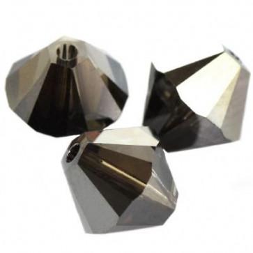 perle Swarovski 4 mm, crystal silver night, 1 kos