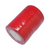 organza trak rdeč, širina: 12 mm, dolžina: 45 m