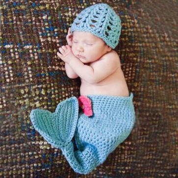 Zaspančki - komplet morska deklica, 1 kos