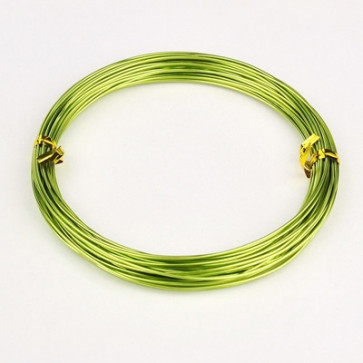 barvna žica za oblikovanje, 1 mm, rumeno zelena, dolžina: 10 m