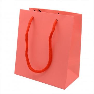 vrečka iz kartona 15x13.3 cm, rdeča, 1 kos